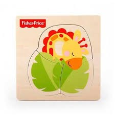 Fisher Price - Rompecabeza de animalito jirafa