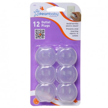 Dreambaby – Tapones para enchufes blanco (12 pack)
