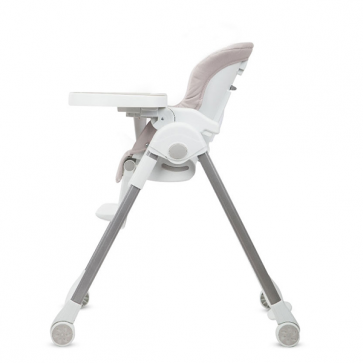Silla de Comer Luxury gris claro - Carestino
