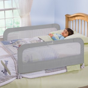 Summer infant - Baranda Doble Seguridad para Cama de Bebé gris