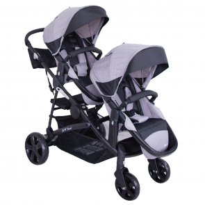 ebaby - Coche Mellicero Duoprant gris