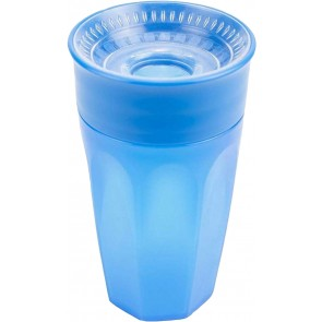 Dr. Brown's - Vaso Cheers 360° de 10 oz / 300 ml Color azul