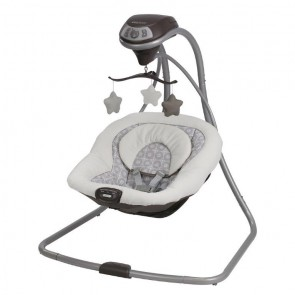 Graco - Columpio Para Bebés Simple Sway Abbington