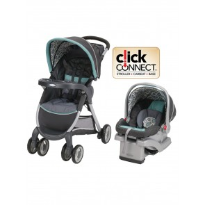 Graco - Coche Travel System Fast Action Fold Affinia