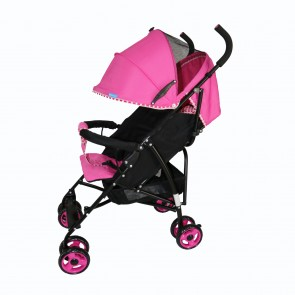 ebaby - Coche Baston Happy Mood rosado
