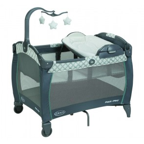 Graco- Corralito Pack and Play Portable Seat and Changer Lx Merrick