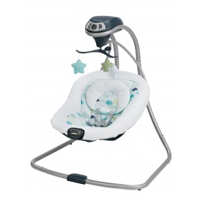 Graco - Silla Mecedora Simple Sway Nubes