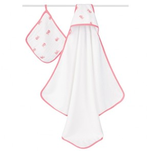 Aden + Anais - Set de Toalla Felpa + toallita Bathing Beauty