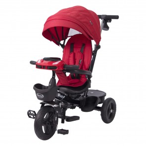 ebaby - Triciclo reclinable Aria roja