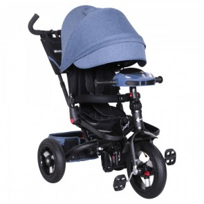 Ebaby - Triciclo reclinable Chester azul