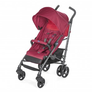 Coche paseo Lite Way 3 Basic Red Berry - Chicco