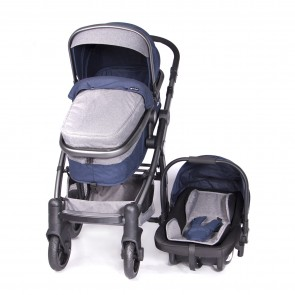 ebaby - Coche travel system Tainy Deluxe azul