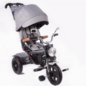 Ebaby - Triciclo reclinable Roadster gris