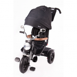 Ebaby - Triciclo reclinable Roadster negro