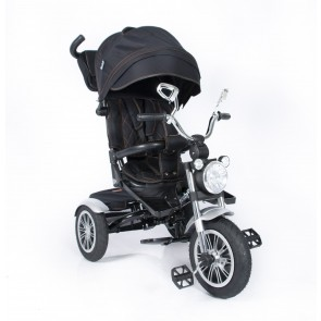 Ebaby - Triciclo reclinable Chopper negro
