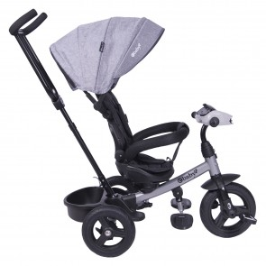 ebaby - Triciclo Spin gris