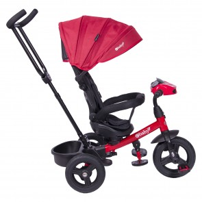 ebaby - Triciclo Spin rojo