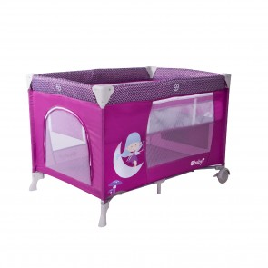 Ebaby - Cuna corral Happy Dream - morado