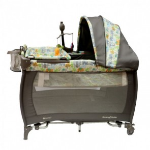 ebaby - Cuna corral Little Angel gris