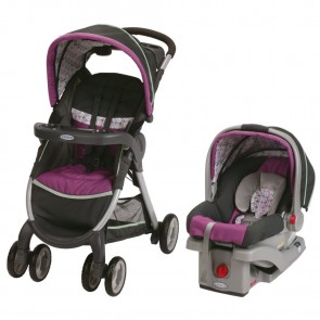 Graco - Travel System Fast Action Fold Sr30 - Nyssa