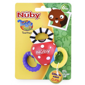 Mordedor twist ball teether 6m+ Nuby