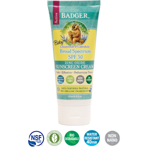 Protector Solar Baby orgánico & natural- SPF 30/ 87ml - BADGER