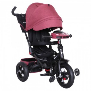 Ebaby - Triciclo reclinable Chester rojo