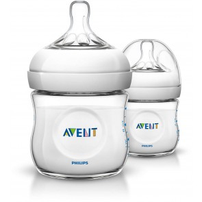 Philips Avent - Pack de 2 Biberones natural 2.0  4oz / 125ml