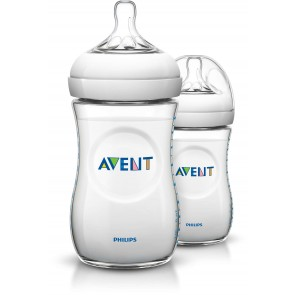 Philips Avent - Pack de 2 Biberones para Bebé Natural 2.0  9oz / 260ml