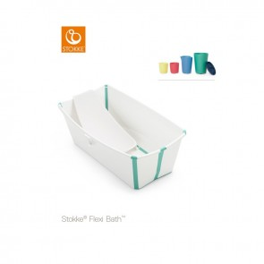 Stokke- Flexi Bath And Play White Aqua