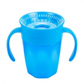 Dr. Brown's - Vaso Cheers 360° de 7 oz / 200 ml Color azul