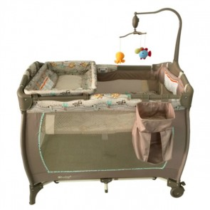 ebaby - Cuna corral Sweet Dreams celeste