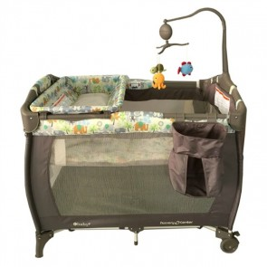 ebaby - Cuna corral Sweet Dreams gris