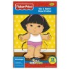 Fisher Price - Rompecabeza de Madera de 12 Piezas - Sonya Lee - Little People